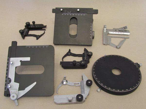 استیج میکروسکوپ | قطعات میکروسکوپ