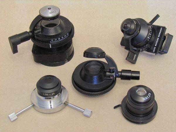 کندانسور میکروسکوپ   قطعات میکروسکوپ