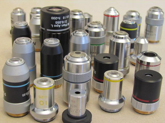 تعمیر قطعات میکروسکوپ